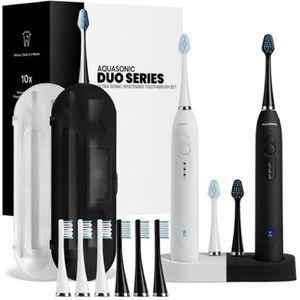 Aquasonic Dual Handle Ultra Whitening Toothbrushes